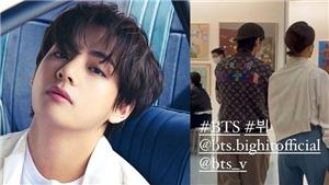 Rộ tin đồn V BTS đang hẹn hò con gái Chủ tịch Paradise Group, HYPE nói gì?