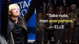 BTS được ca ngợi là nhóm nhạc nam mặc đẹp nhất thế giới