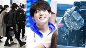 Bị kêu ca 'tay xách nách mang' nhưng Jungkook BTS khăng khăng chỉ mang đồ thiết yếu