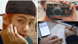 Sở thích chụp ảnh đã giúp V BTS 'trải lòng' trong ca từ như thế nào?