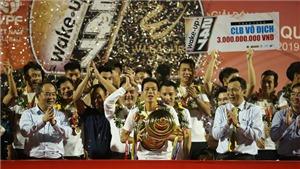 VIDEO Bóng đá Việt Nam hôm nay ngày 24/10: Hà Nội ăn mừng ngôi vô địch V-League, HAGL 'giải cứu' Công Phượng