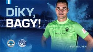 Filip Nguyễn bất ngờ chia tay Slovan Liberec