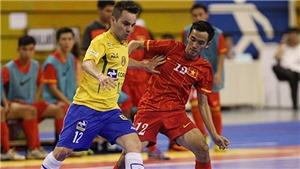 Tuyển Futsal Việt Nam từng thắng Brazil như thế nào?