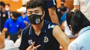 Cầu thủ Hà Nội FC hoàn thành mũi tiêm vắc xin thứ 2