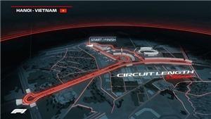Mô phỏng đường đua F1 tại Hà Nội