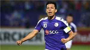 Quả bóng Vàng Văn Quyết trở lại cùng Hà Nội đấu Nam Định