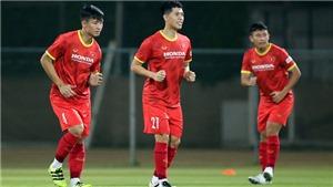 Việt Nam vs Malaysia: Trọng Hoàng, Đình Trọng tái xuất