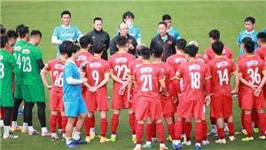 HLV Park Hang seo loại 10 cầu thủ trước ngày lên đường sang UAE