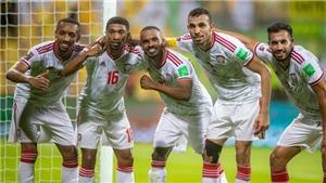 UAE bám đuổi tuyển Việt Nam tại bảng G