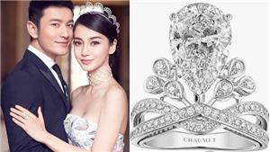 Những chiếc nhẫn đính hôn nghe giá đã 'choáng' của những nghệ sĩ hàng đầu Trung Quốc