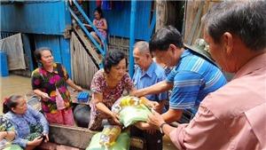 Khẩn cấp cứu trợ người gốc Việt bị lũ lụt tại Kampong Speu - Campuchia