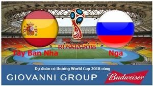 Dự đoán có thưởng World Cup 2018: Trận Tây Ban Nha – Nga (vòng 1/8)