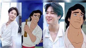 ARMY muốn Jimin BTS trở thành hoàng tử trong 'Nàng tiên cá' phiên bản người đóng