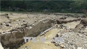 Mưa lũ gây thiệt hại tại Sơn La