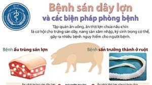 Bệnh sán dây lợn và các biện pháp phòng bệnh