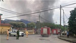 Vụ hoả hoạn tại Khu công nghiệp Phú Thị, Hà Nội: Khởi tố vụ án để điều tra