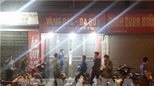 Bắt được đối tượng cướp tiệm vàng tại quận Nam Từ Liêm, Hà Nội