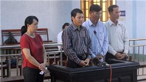 Bốn cán bộ hầu tòa vì thiếu trách nhiệm gây hậu quả nghiêm trọng