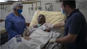 Dịch COVID-19: Hơn 200.000 người tử vong ở Mỹ Latinh và Caribe