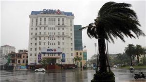 Bão số 9: Tại Thừa Thiên – Huế, 33 nhà bị tốc mái, 4 người bị thương nặng