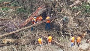 Vụ sạt lở tại Nam Trà My - Quảng Nam: Tìm thêm được nạn nhân trong vụ sạt lở ở xã Trà Leng