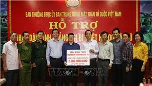 Ban Cứu trợ Trung ương phân bổ 45 tỷ đồng hỗ trợ 11 tỉnh miền Trung,Tây Nguyên
