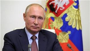 Tổng thống Nga V. Putin hủy cuộc đối thoại thường niên với người dân trong năm 2020