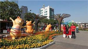 Đường hoa Nguyễn Huệ 2021, không gian trải nghiệm đáng nhớ Xuân Tân Sửu