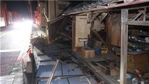 Động đất tại Nhật Bản ít nhất 80 người đã bị thương