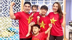Con gái Đông Nhi gia nhập đội fan 'cuồng' đội tuyển Việt Nam