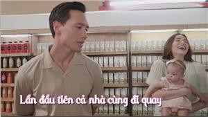 Nghe Kim Lý nói tiếng Việt mà Hà Hồ vừa bế con, vừa cười ngất