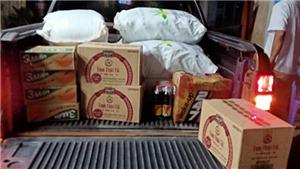 Thủy Tiên đi phát gạo mùa dịch: Thêm 20 tấn gạo đã về đến kho, mọi người chờ đợi chút nhé!