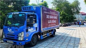 Hà Nội triển khai nhiều điểm bán hàng lưu động phục vụ người dân