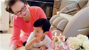 Hoa hậu Phạm Hương giấu chồng nhưng lại khoe mẹ chồng