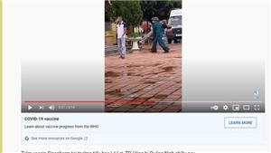 Thông tin về hình ảnh cấp cứu khi tiêm vaccine phòng Covid-19 ở thành phố Uông Bí là sai sự thật