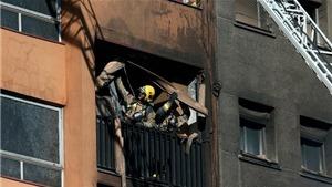 Cháy chung cư ở Barcelona, Tây Ban Nha, nhiều người thương vong