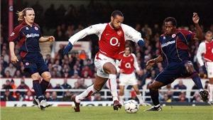 Nhìn lại sự nghiệp của Thierry Henry, 'Con trai thần gió'