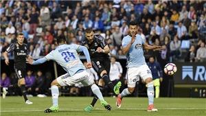 BIG BET: Dự đoán và tỉ lệ trận Celta Vigo - Real Madrid (02h45, 8/1)
