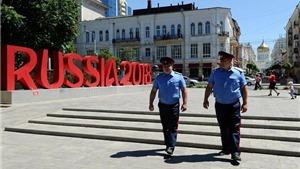 An ninh Nga làm gì trước giờ khai mạc World Cup?