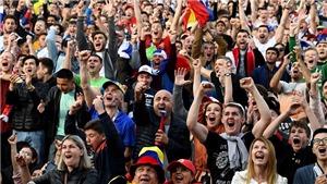 Bên lề World Cup: Chính quyền Moskva lo ngại an ninh khu Fanzone