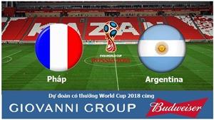 Dự đoán và tỉ lệ trận Pháp vs Argentina (21h00, 30/06)