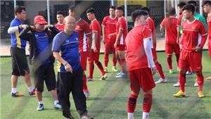 HLV Park Hang Seo và vấn đề sân tập của U23 Việt Nam