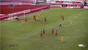 VIDEO: Highlight Hải Phòng 0-0 SLNA, vòng 9 V League