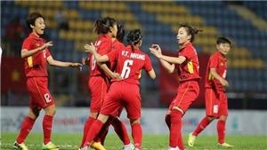 VIDEO: Bàn thắng và highlights nữ Việt Nam 4-0 Myanmar