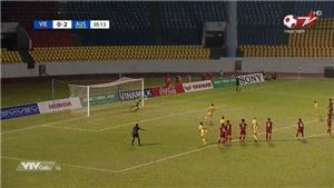 VIDEO: Thủ môn Kim Thanh bay người cứu thua 11m đẹp mắt