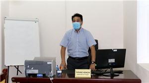 Giám đốc kỹ thuật Yusuke Adachi hết cách ly, bắt tay vào việc tại VFF