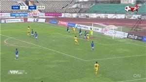 Video bàn thắng SLNA 1-0 Than Quảng Ninh: Chiến thắng nhọc nhằn