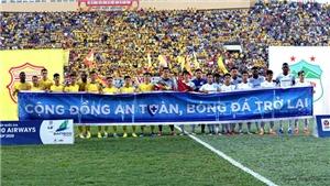 Nhiều quy định khi V-League 2021 trở lại