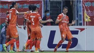 Video bàn thắng Hà Nội 0-1 Bình Định: Thầy Hàn ra mắt không như ý