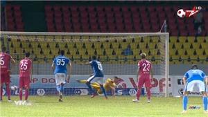 Video bàn thắng Than Quảng Ninh 1-0 Sài Gòn FC: Chiếm ngôi đầu bảng